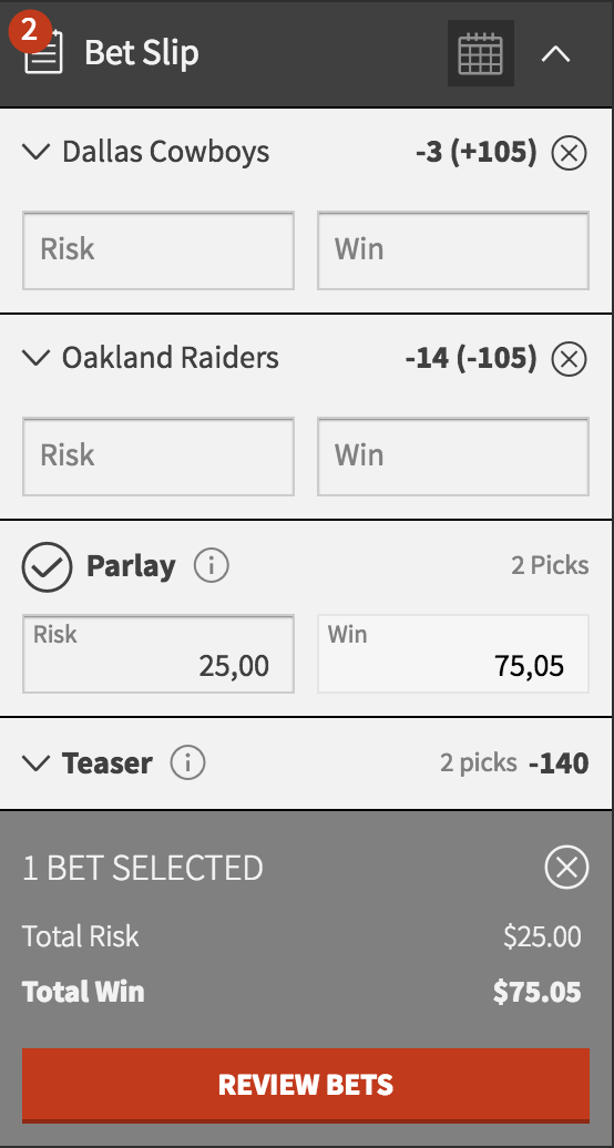 Best NFL Parlay Bets Week 2