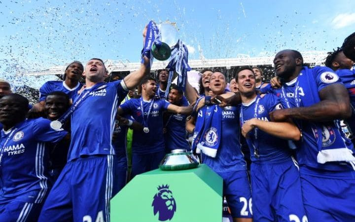 Chelsea 2017 English Premier League Title